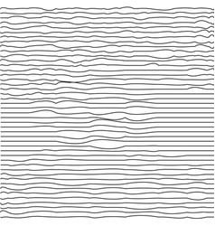 modern trendy minimal waves seamless pattern vector image