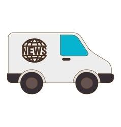 News van press vector