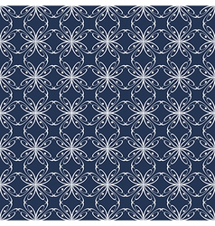 Ornament for fabric vector