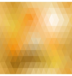 Yellow mosaic seamless vector