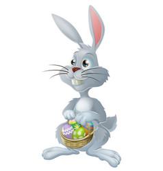 easter bunny rabbit vector image