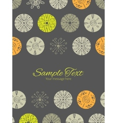Abstract gray and green polka dot backgr vector