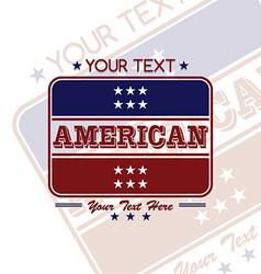 America label vector