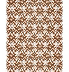 Brown wallpaper pattern vector