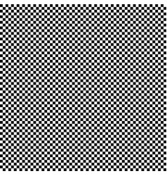 checkered geometric background with black vector image