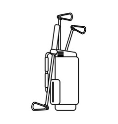 Club golf related icon image vector