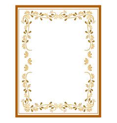 Frame card vector