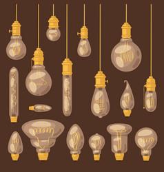 light bulb lightbulb idea solution icon and vector image