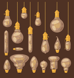 light bulb lightbulb idea solution icon vector image