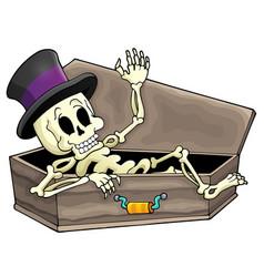 Skeleton theme image 3 vector