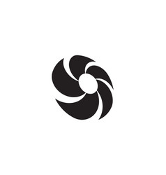 vortex icon vector image