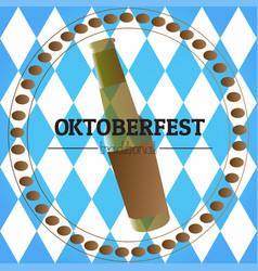 oktoberfest graphic design vector image vector image