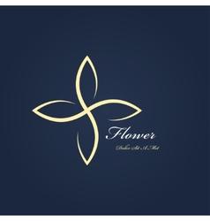 Symbol flower vector