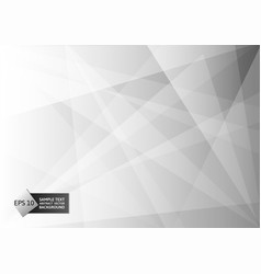 abstract geometric gray and white color modern vector image