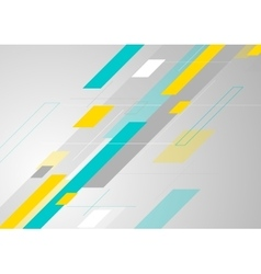 Abstract tech corporate minimal background vector