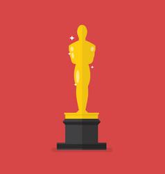 Academy award icon vector