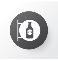 Beer sign icon symbol premium quality isolated vector
