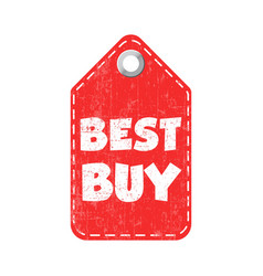 best buy hang tag vector image