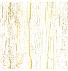 gold foil wood texture seamless pattern vector image