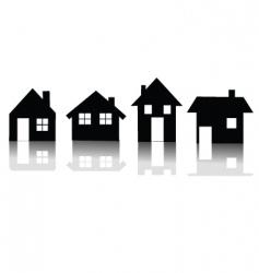 Houses vector