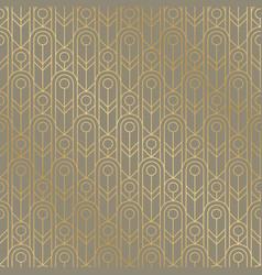 Lauxury golden geometric oval grid seamless vector