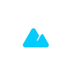 mount logo icon vector image