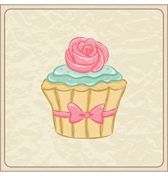 cupcakes05 vector image vector image