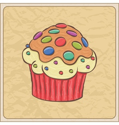 cupcakes06 vector image