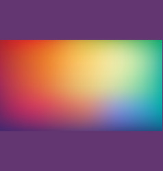 abstract blurred gradient mesh background trendy vector image