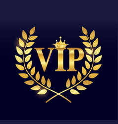 Abstract luxury vip members background vector