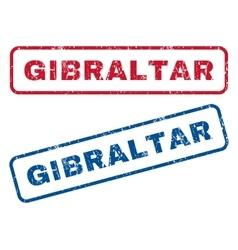 Gibraltar Rubber Stamps vector