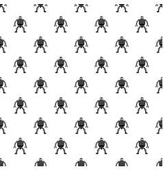 Humanoid robot pattern vector