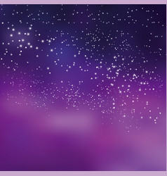 Night sky stars concept for background simple vector