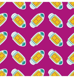 seamless background with radio tubes vector image vector image