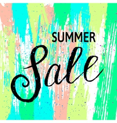 summer sale3 vector image