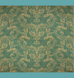Vintage old wallpaper vector