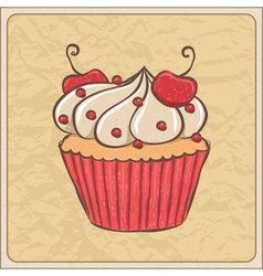 cupcakes08 vector image