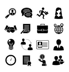 Job interview set vector