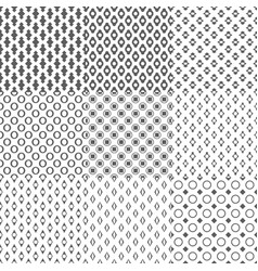 Simple Geometric Seamless Pattern Background vector image vector image