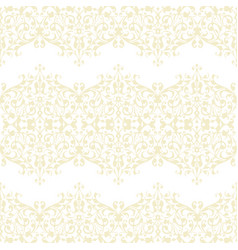 abstract beige swirls seamless pattern vector image vector image