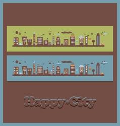 City2 vector image vector image