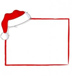 Santa card vector image vector image