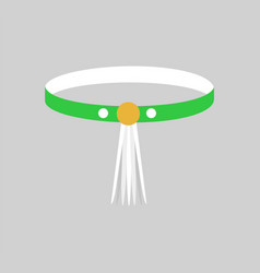 Beautiful bangle with yellow clip colorful card vector