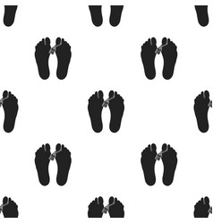 Corpse icon in black style isolated on white vector