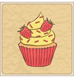 cupcakes10 vector image