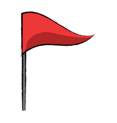 flag icon image vector image
