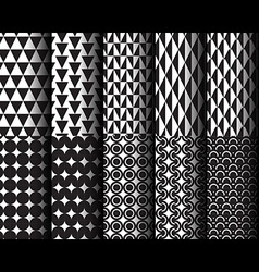 Geometric style pattern 001 vector