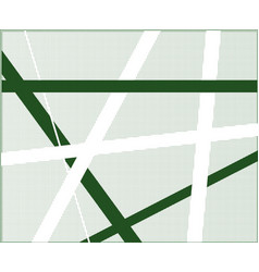 Green criss cross halftone vector