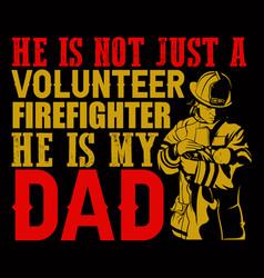 He is not just a volunteer vector