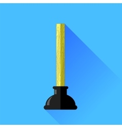 Rubber Plunger vector